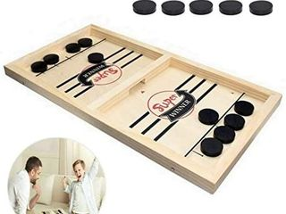 Fast Sling Puck Game   Paced Slingpuck Winner Fun Toys Board Game   Party Game Toys Gift for Adults   Kids Children 14 6x8 8 inch
