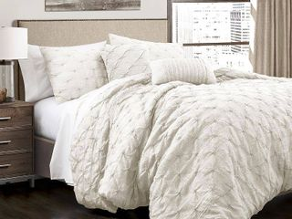Ravello Pintuck Comforter 5 Piece Set