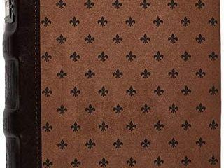 Bellagio italia Tuscany 48 Cd dvd Storage Holder Chestnut