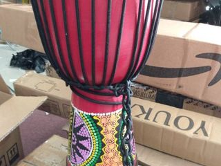 8  hand painted african drum