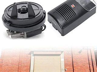 Auto Garage Roller Door Opener Power Electric Rolling Shutter Roller Remote Door Opener Built in Motor Garage Roller Pulling Force Automatic Shutter Door Remote 110V 16 4ft 250N
