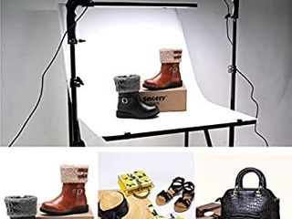 GIJUANRING Photography lighting lED Studio light 5600K Dimmable Photo Studio Video light Kit with Tripod Stand for Portrait Video and Shooting