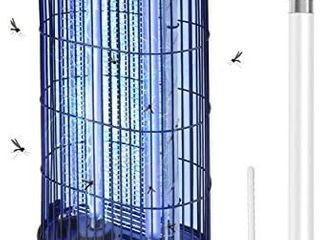 AMUFER Bug Zapper Electric Mosquito Killer  Zapper  Fly Trap Indoor Powerful Insect Killer Fly Zapper with Mosquito lamp