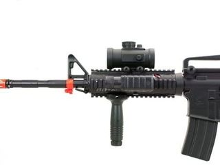 bbtac bt m83 20000bb 250 fps lpeg full auto electric power airsoft gun with tactical accessories and 20000 ball bearing Airsoft Gun