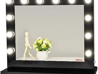 Chende Vanity Mirror with lights Wall lighted Makeup Mirror large Hollywood Mirror for Vanity Table