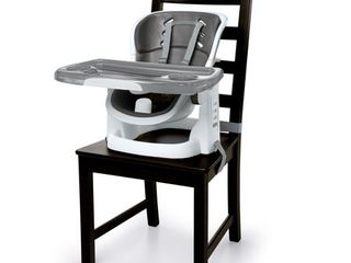 Ingenuity SmartClean ChairMate High Chair   Slate   Toddler Booster Seat
