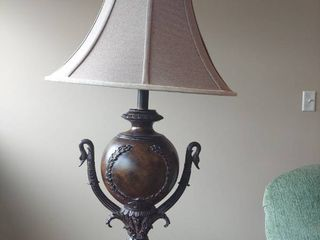 Decorator Table lamp with Goose Heads