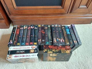 The X Files VHS Tapes