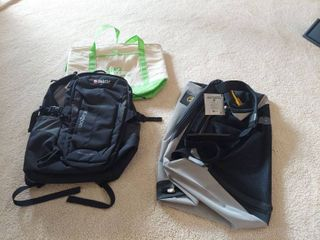 Duffel Bag  Bookbag and Insulated Bag