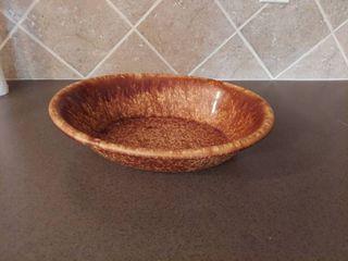 Antique Brown Bowl