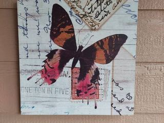 Butterfly on Wood Wall Decor