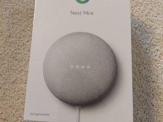 Nest Mini  2nd Generation  Smart Speaker with Google Assistant