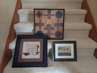3 Pieces Wall Decor