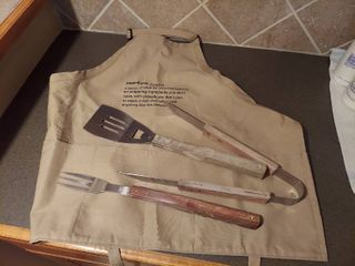 Apron and Grill Tools