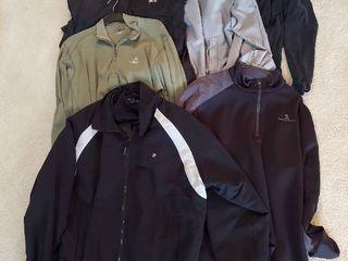 light Jackets   Windbreakers   Size Xl