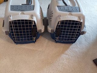 2 Small Petmate Pet Taxis