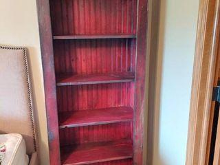 Red Country Farm House Shelf