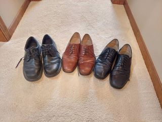 3 Pairs Shoes   Size 10 5