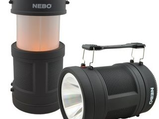 Nebo Realistic Flame Pop Up lantern and Spot light