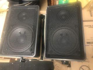 Set up to indoor outdoor speakers