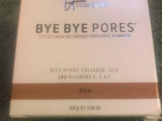 Bye Bye Pores finishing power