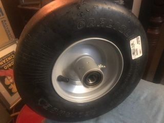 Heavy duty tire and wheel size 13 x 5 00 6 3 25
