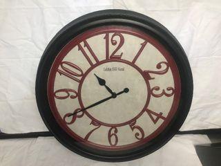 Decorative 20 inch wall clock