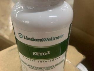 3  bottles of Keto3 dietary supplements Bottles have 60 capsules per bottle high dollar items