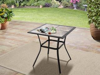 Mainstays Heritage Park 27  Tiled Patio Bistro Table