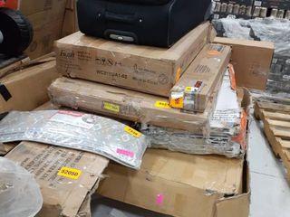 lot of Incomplete Furniture  Slats for King Size Bed  Cabinet  Blinds  l Shape Desk  Bed Frames  All have missing pieces