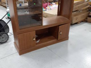 Entertainment Center with Storage Space