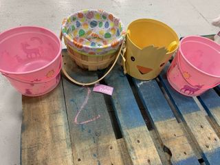 Set of 4 Assorted Baskets