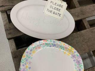 White Platter Bundle