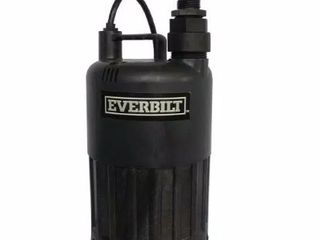 Everbilt Pump Waterfall Submersible Thermoplastic Threaded Male Durable 4 10 Hp Retail   129 00