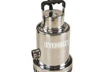 Everbilt 1 2 HP Waterfall Utility Pump Retail   305 10