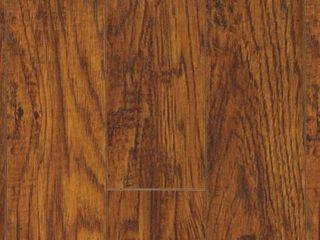Pergo XP Highland Hickory 10 mm T x 4 87 in  W x 47 87 in  l laminate Flooring  13 1 sq  ft    case  Dark