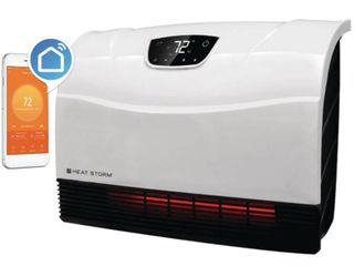 Heat Storm Phoenix 1500W WiFi Infrared Space Heater  Indoor  White  HS 1500 PHX WIFI