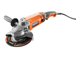 RIDGID 15 Amp Corded 7 in  Twist Handle Angle Grinder