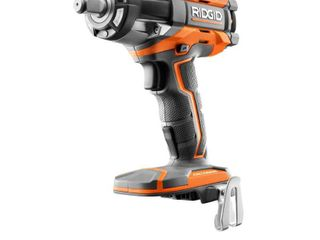 RIDGID 18 Volt OCTANE Cordless Brushless 1 2 in  Impact Wrench  Tool Only  with Belt Clip Retail Price  179