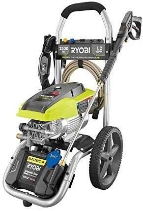RYOBI 2 300 PSI 1 2 GPM High Performance Electric Pressure Washer Retail Price  348 04