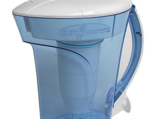ZeroWater 10 Cup Ready PourAAr Pitcher with Water Quality Meter ZD 010RP