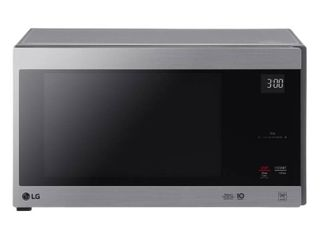 lG 1 5 cu ft Smart Inverter Countertop Microwave   Stainless Steel