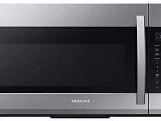 Samsung ME19R7041FS 1 9 Cu Ft  Stainless Steel Over The Range Microwave