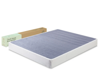 New ZINUS 7 Inch Smart Metal Box Spring Mattress Foundation Strong Frame King