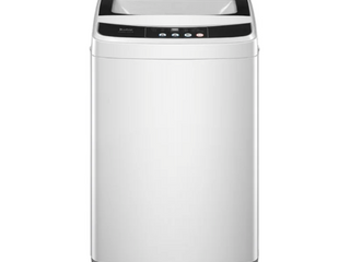 As Is  Not Tested  Full Automatic Washing Machine Portable Compact laundry Washer Spin with Drain Pump 13 3 lbs Capacity