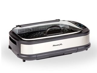 PowerXl Smokeless Grill Plus with Tempered Glass lid and Turbo Speed Smoke Extractor Technology   71 99