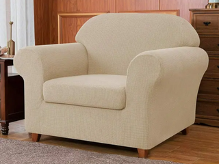 Subrtex Stretch Armchair Slipcover 2 Piece Spandex Furniture Protector