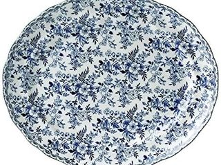 Johnson Brothers Devon Cottage 13 75  Oval Platter  Multicolored   Retail   45 99