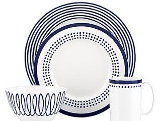Kate Spade China by lenox  Charlotte St East 4 Piece Place Setting   85 00