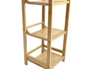Redmon Bamboo 3 Tier Shelf Bedding